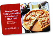 Athens Pizza, Leominster, Gift Card